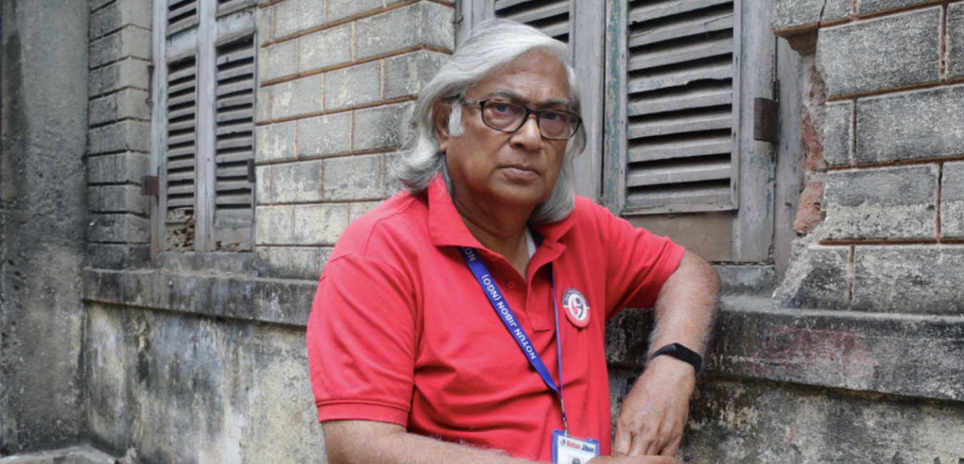 """""""TB can happen to anyone and yet it happens most often to those affected  by poverty, malnutrition, lack of access to safe and clean housing. So addressing TB without addressing its socioeconomic determinants is like putting a bandaid on a bullet wound.""""  Arup Sengupta TB Survivor, Founder of Notun Jibon (an NGO)"""