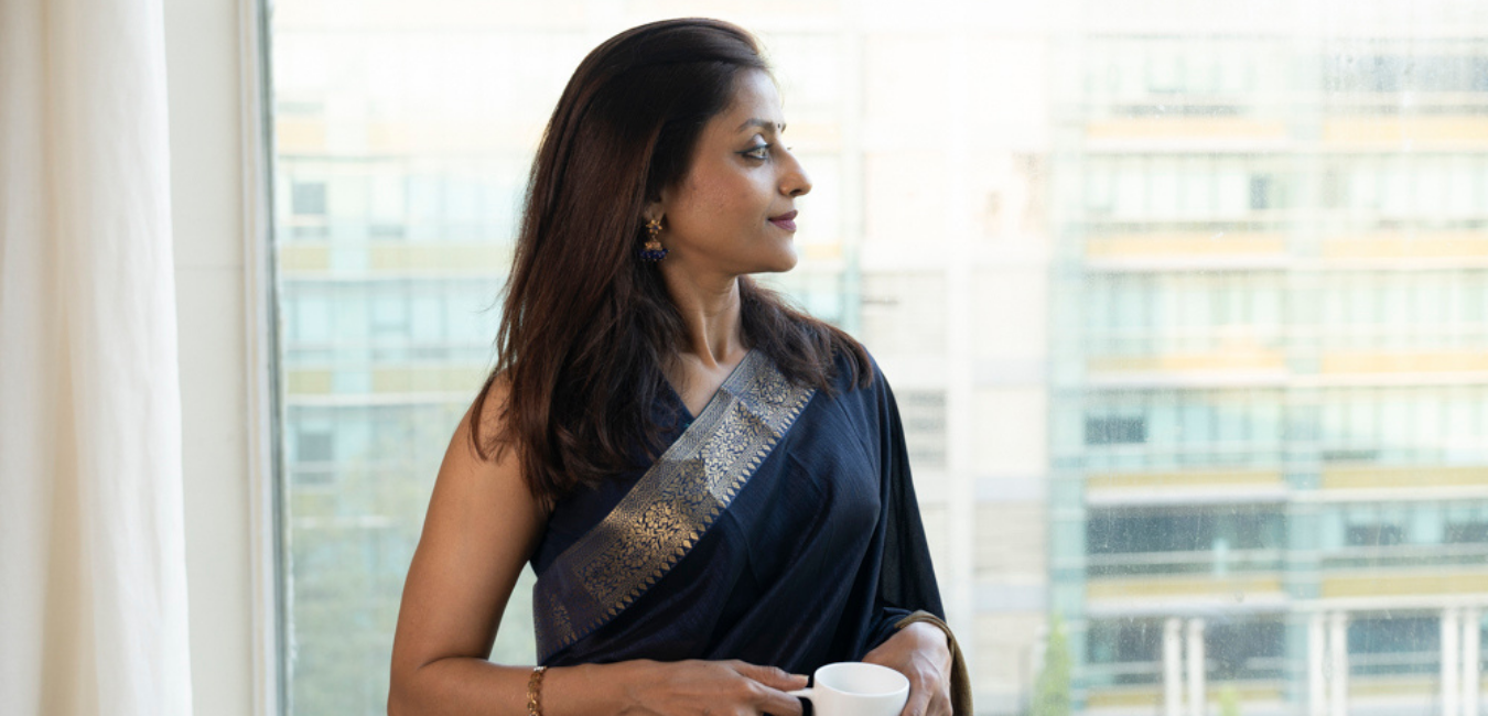 """""""If we intend to provide gender sensitive care, the most important step is to initiate an inclusive and public conversation about what it means to genders and communities – whether it be in the case of tuberculosis, Covid-19, or any other disease."""" Sandhya KrishnanTB Survivor, Mindfulness and Wellness Coach, SATB Fellow"""